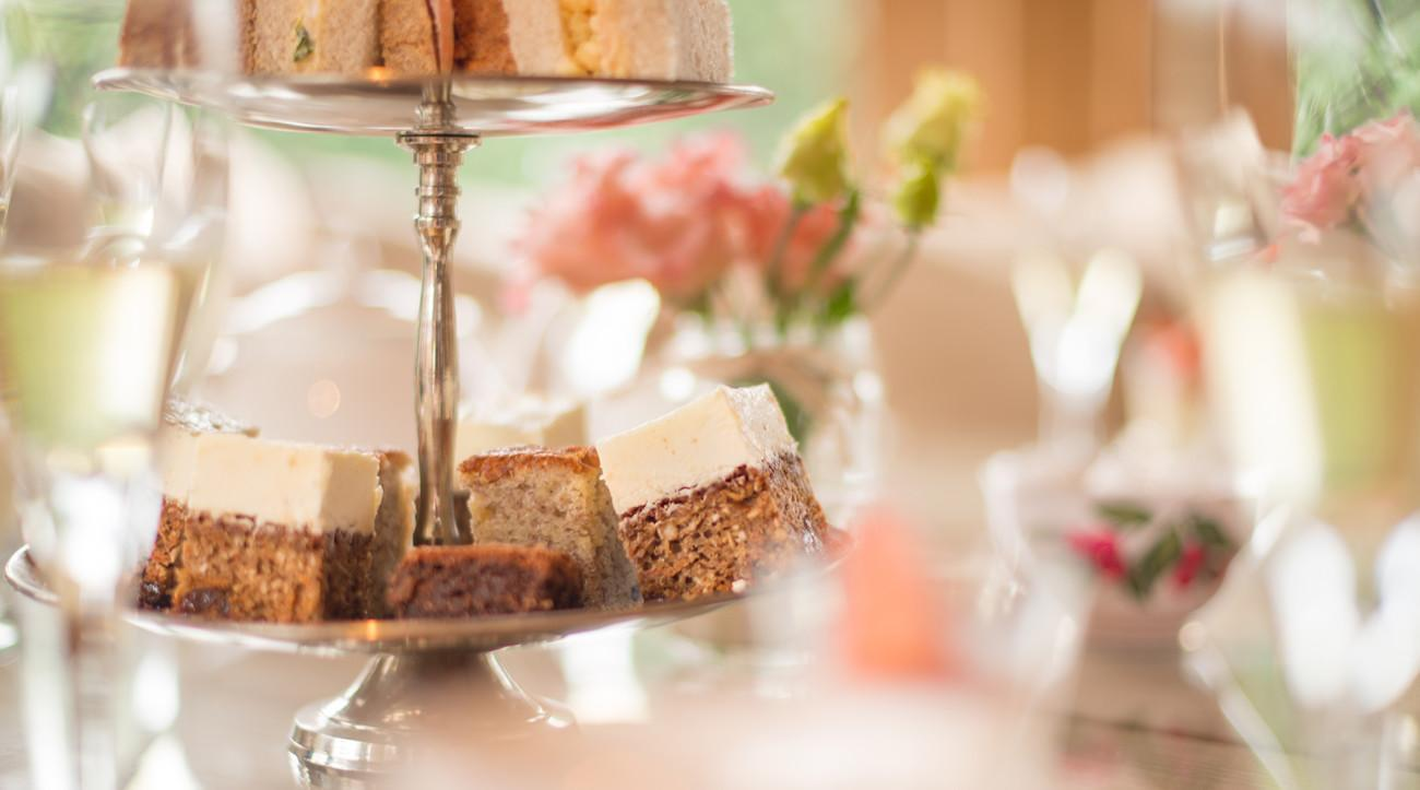 Stanwell House Hotel afternoon tea