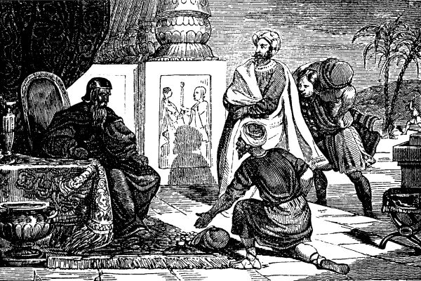 old illustration of parable