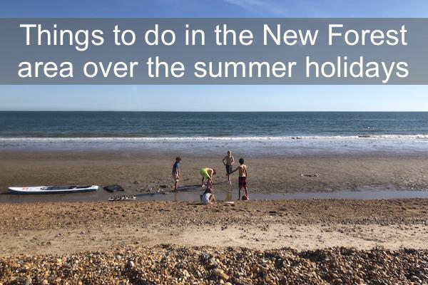 Things to do in the New Forest area over the summer holidays