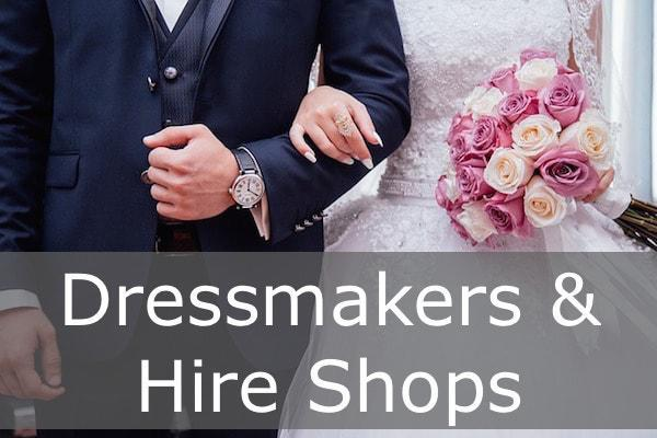 Dressmakers Hire Shops in the New Forest