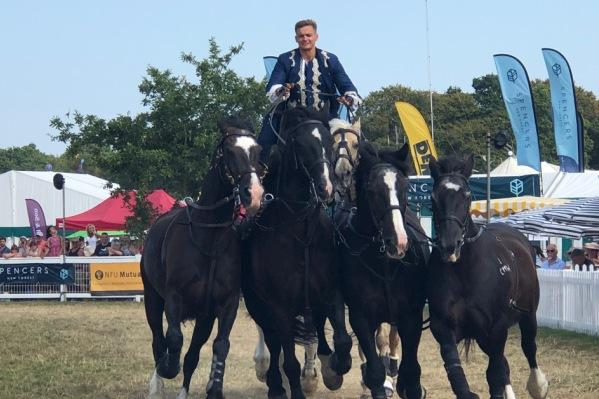 Ben Atkinson horses highlight of New Forest Show 2018