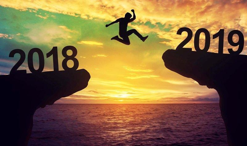 Time to take the leap to 2019 with some well thought through resolutions