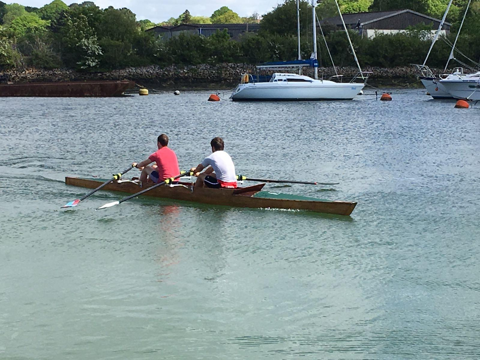 Lymington Rowing Club will attempt to break the River Thames record