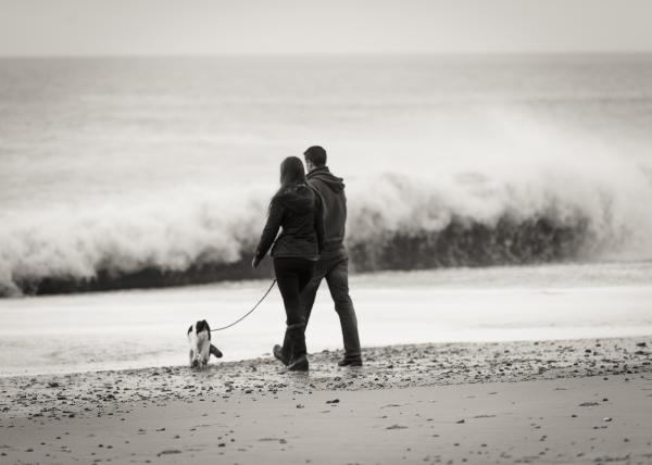 Contemporary lifestyle photography on the beach in Hampshire