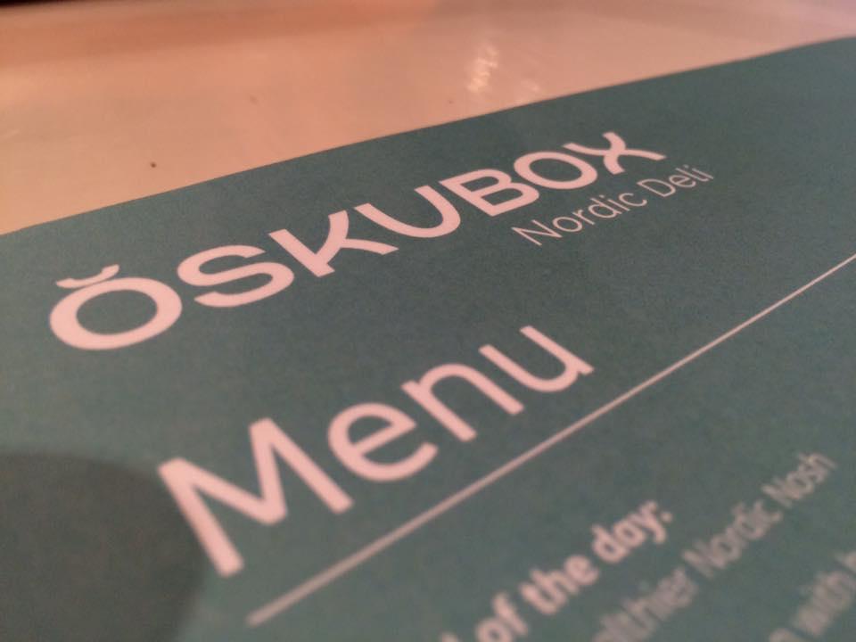 Oskubox menu