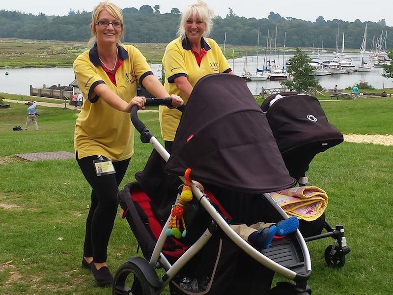Freedom Childcare out and about in Lymington Hampshire