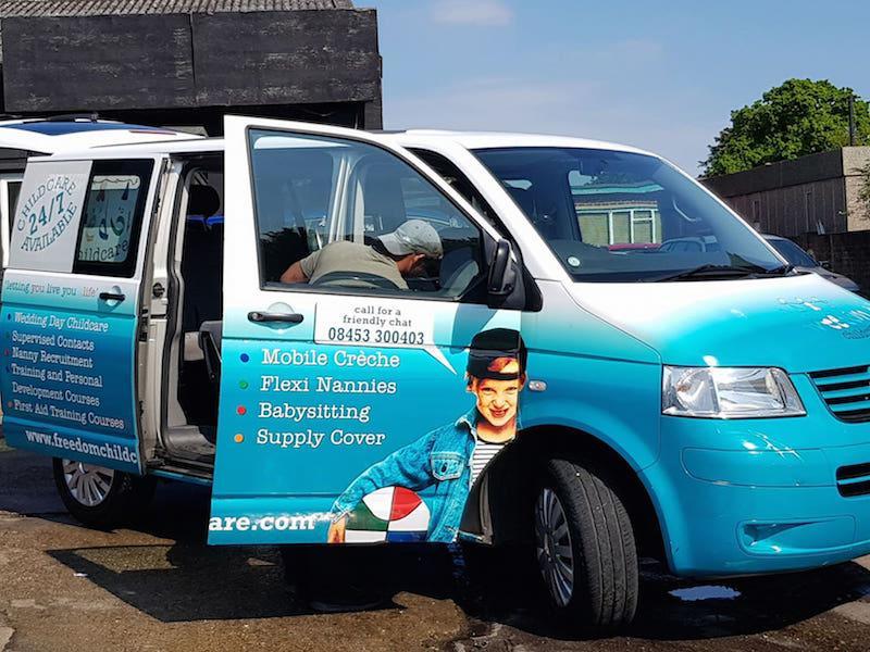 Freedom Childcare Minibus