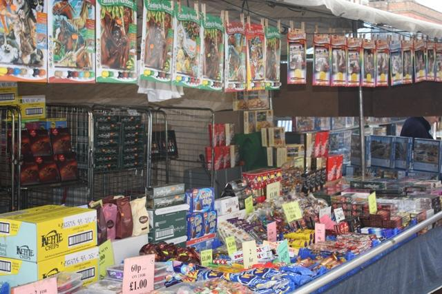 A R Veal Ltd Lymington Market Stall Holder
