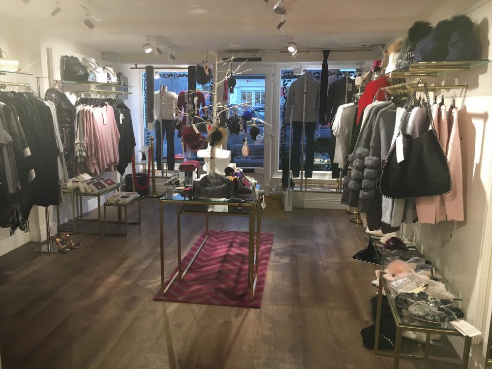 Inside Belle Ella Boutique Lymington