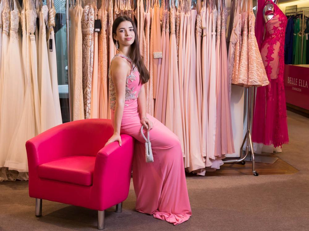 Wide range of prom dresses at Belle Ella Boutique