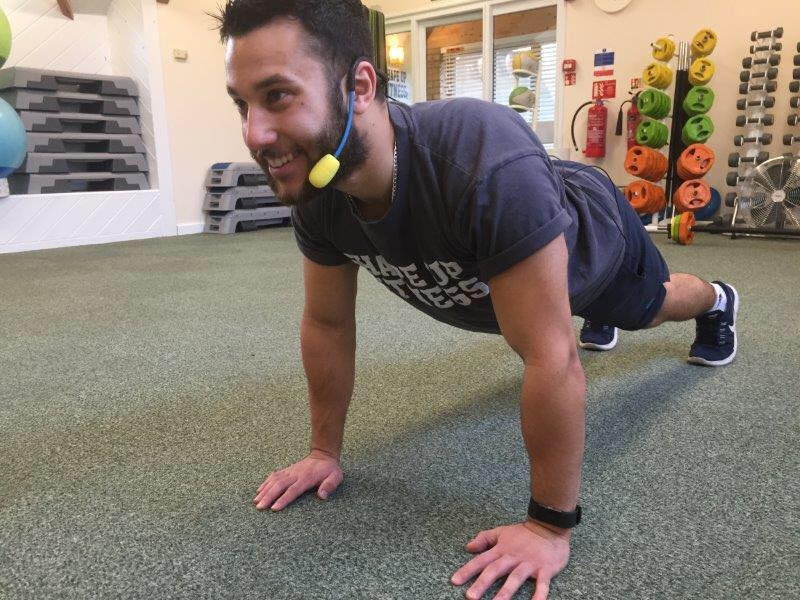 Nik personal trainer at Shape Up fitness