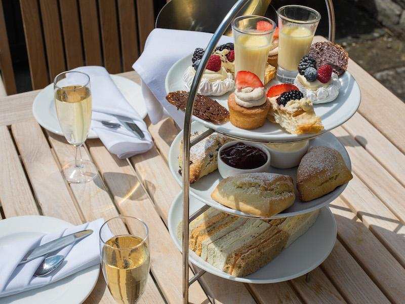 Afternoon Tea at  Rhinefield House Hotel New Forest