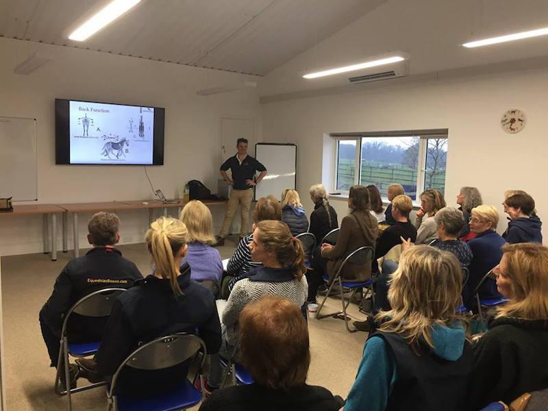 Meeting room at Tilefield Equestrian New Forest Hampshire
