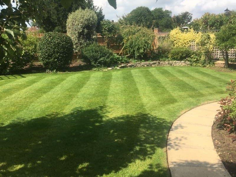 Sterling Gardens garden maintenance a tidy lawn