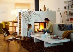 New Forest Wood Burning Centre - effective and beautiful heat - modern look