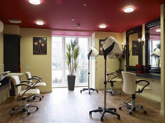 Colten Care Linden House specialist dementia care home - the hairdressers