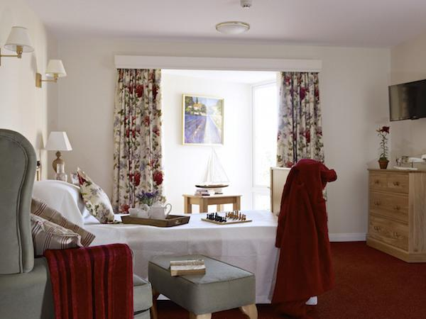 Bedroom at Linden House Lymington
