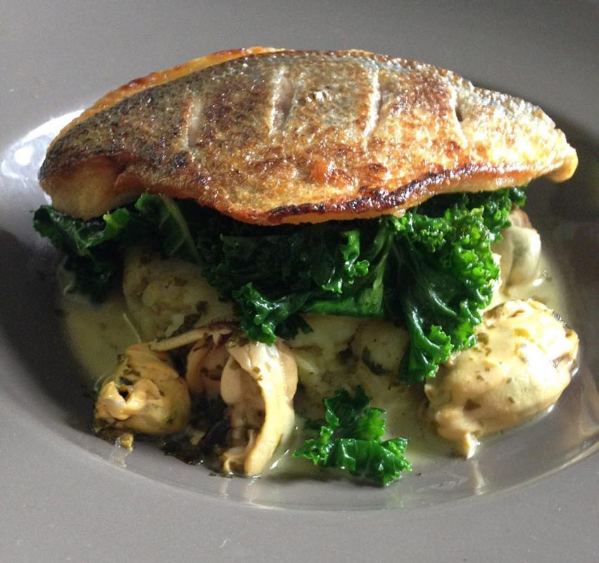 Seabream at La Perle