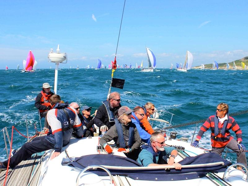 Round the Island race with Flexisail