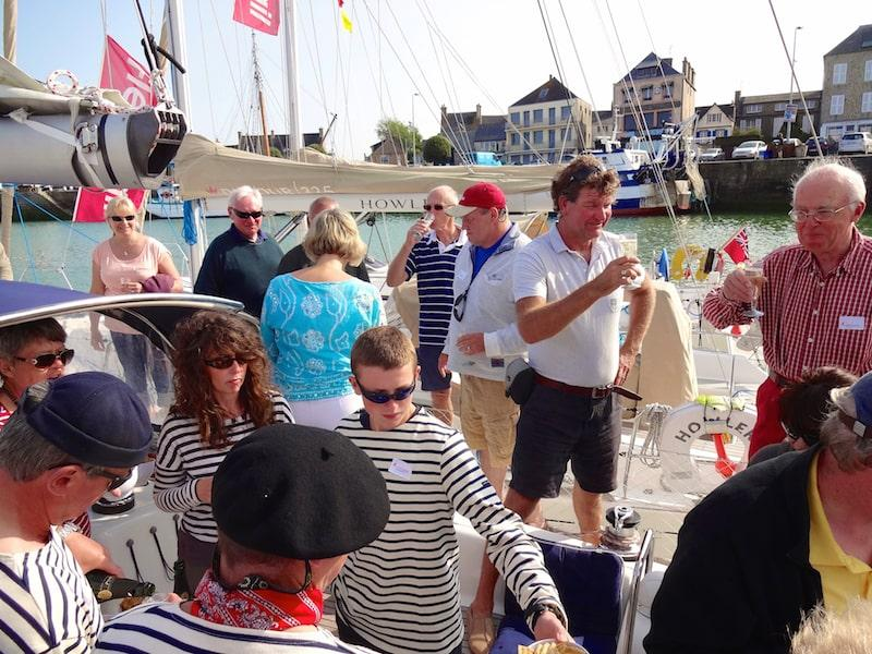 Flexisail party in St Vaast