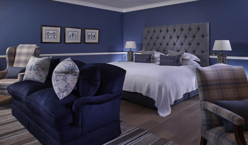 Chewton Glen bedroom