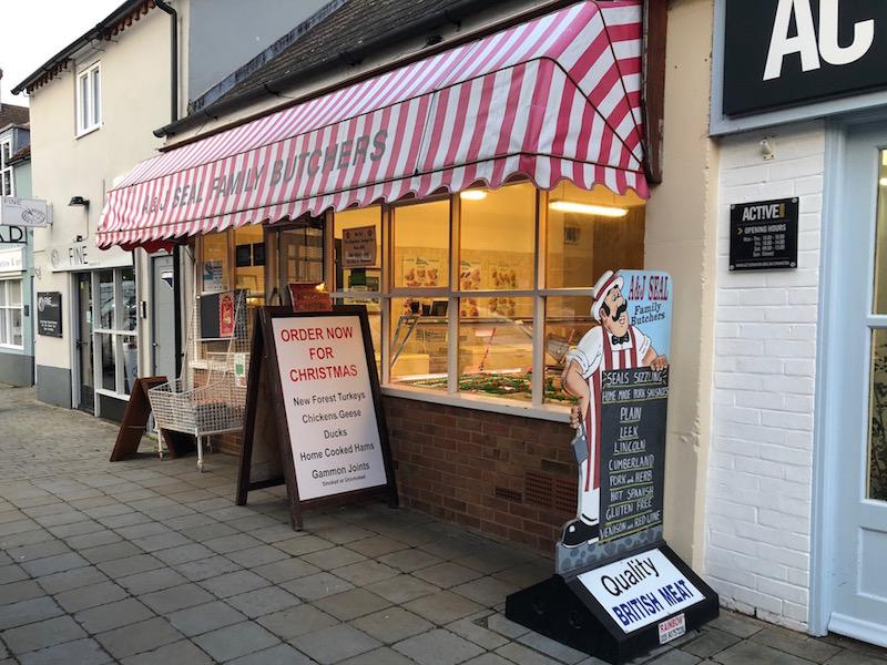 AJ Seal Butcher Lymington