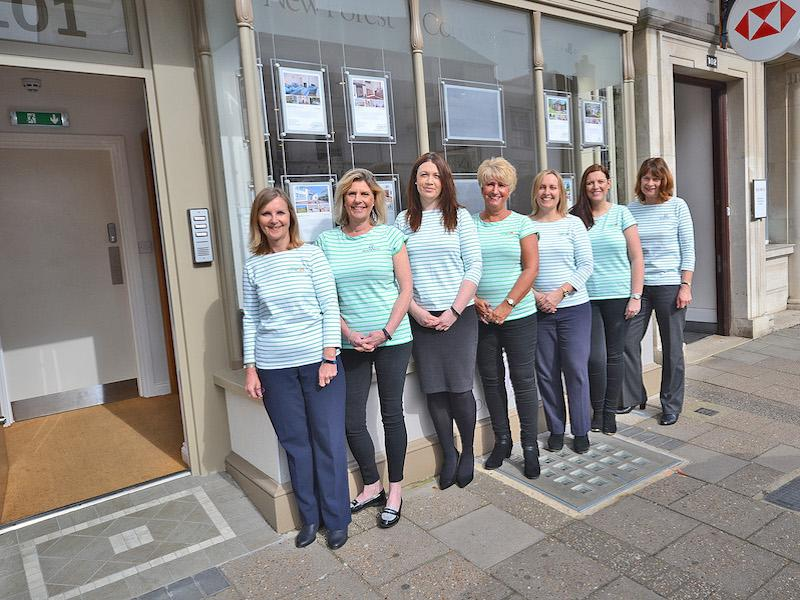 The friendly team at New Forest Cottages based in Lymington