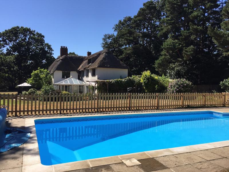 New Forest Cottages with swimming pools