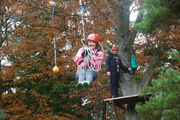 New Forest Activities - the high ropes!