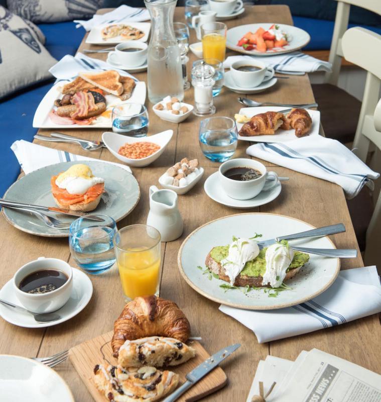 Breakfast menu at The Haven Bar & Restaurant