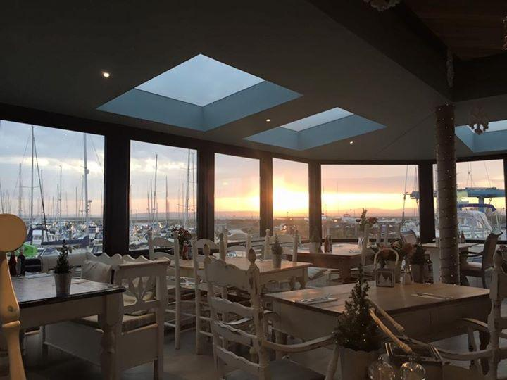 Incredible views at at The Haven Bar & Restaurant