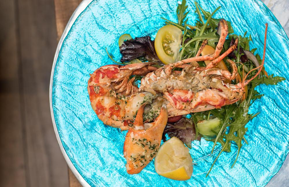Lobster at The Haven Bar & Restaurant