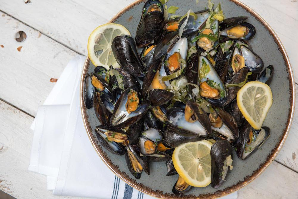 Mussels at The Haven Bar & Restaurant