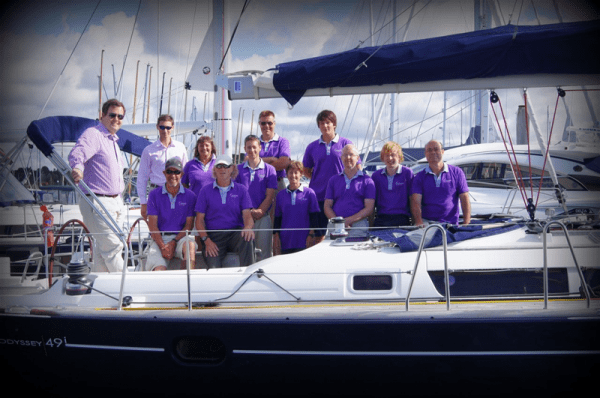 Escape Yachting Lymington team