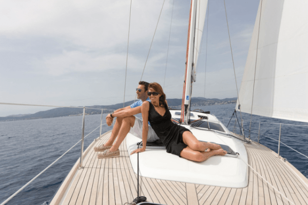 Onboard Escape Yachting sailaway