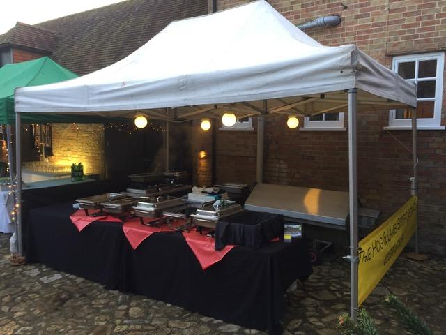 Hog and Lamb Spitroast Company New Forest - the gazebo