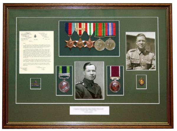 In The Frame - treasured memorabilia saved where you can actually see them too