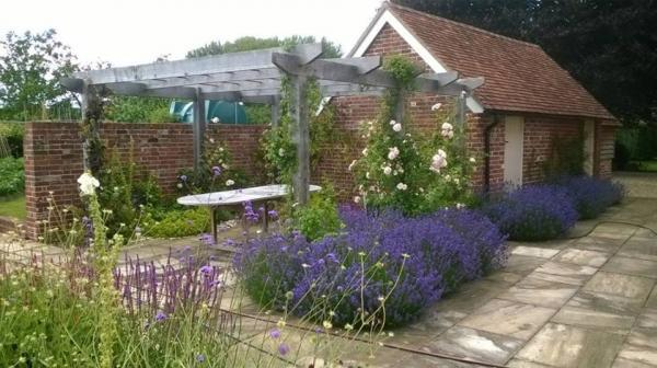 J100 Horticulture gardening and landscaping colourful garden and landscaping