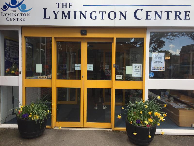 Entrance to The Lymington Centre
