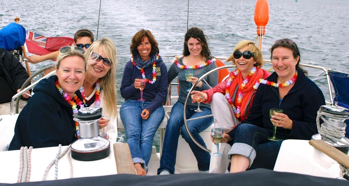 Sail with Lunch or Dinner Day Trips on the Solent