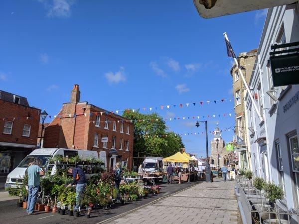 Lymington Charter Market